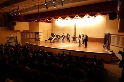 米堤飯店薩克斯風重奏團嘉市巡演