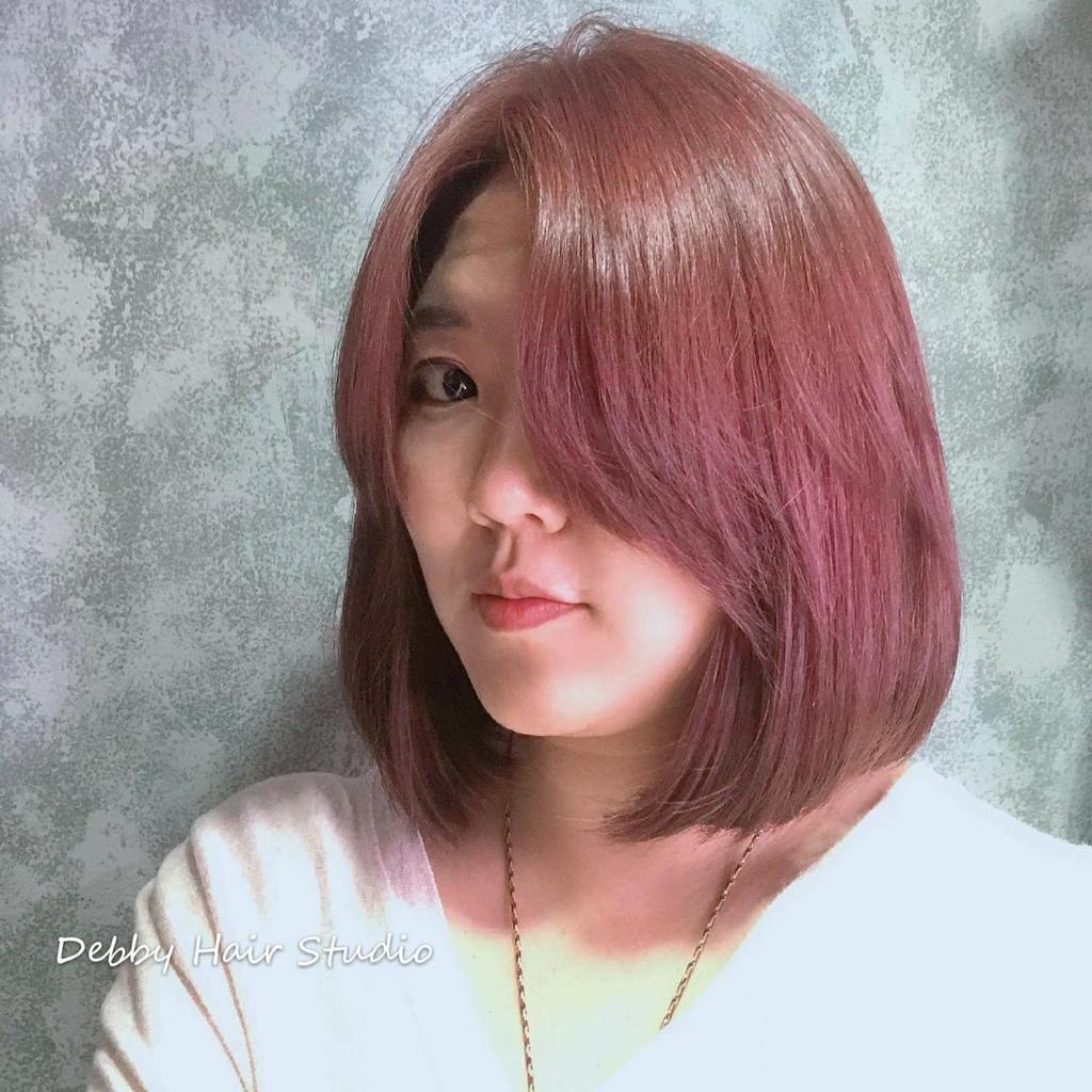 ▲▼珊瑚髮色。(圖/StyleMap提供)