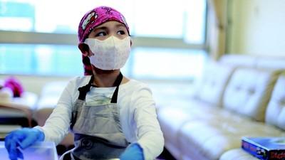 三個孩子一個得重症 堅強媽跟子女聊死亡 女兒生病竟被說「業障」