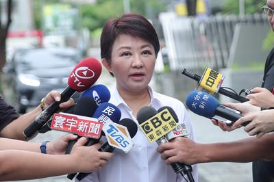 盧秀燕一定幫韓選總統 掛不掛職務再討論