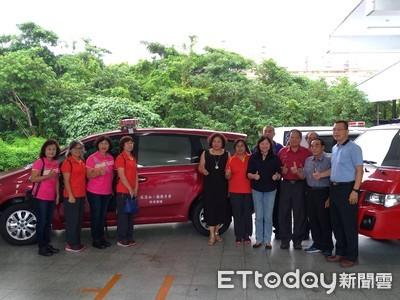 捐贈救災車輛 蘇水興完成父母生前願望