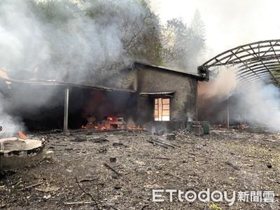造橋煙火工廠爆炸 2人受傷送醫