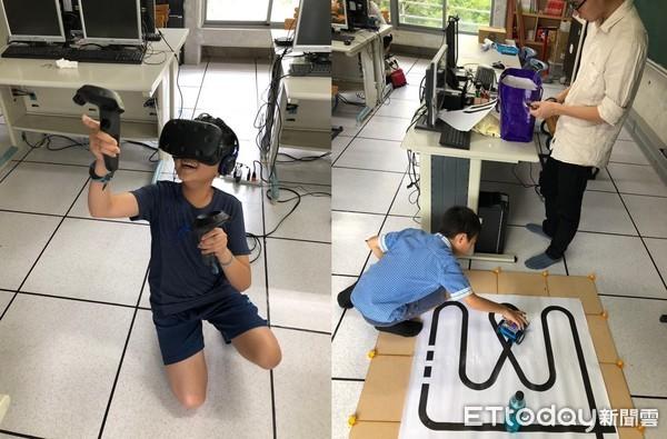 ▲▼台北醫學大學舉辦2019仲夏機器人夏令營。(圖/台北醫學大學提供)