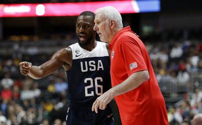 華克、波波維奇不擔心美國隊狀況