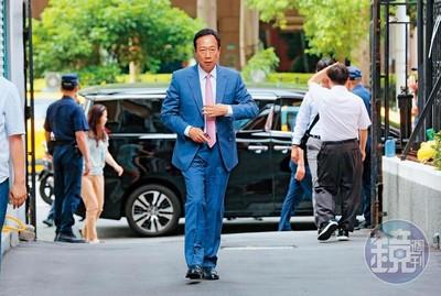 8月底掀底牌 郭台銘2劇本選總統