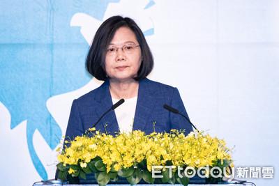 蔡英文:不許境外勢力利用台灣自由傷害自由