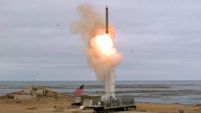 毀約後  美首度舛禁試射中程導彈