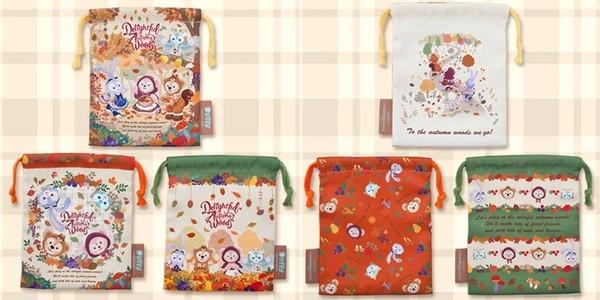 ▲日本迪士尼推「達菲」秋季新品。(圖/翻攝自tokyodisneyresort.jp)