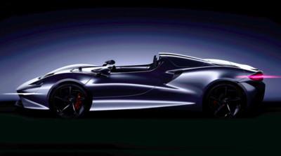 McLaren公布新敞篷超跑預告圖