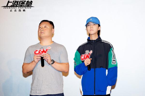 ▲《上海堡壘》導演自責「用錯鹿晗」 向佐轟噁心:你別做這行了。(圖/翻攝自微博/電影上海堡壘)