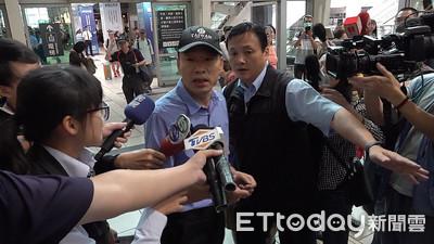 韓國瑜搭高鐵北上不再回應追蹤器:聲明過了