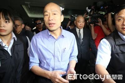 韓國瑜:台灣在美中貿易受傷害 必須謹慎