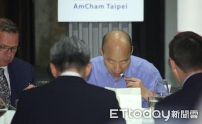 韓國瑜用晶晶體 美商執行長:他盡全力了
