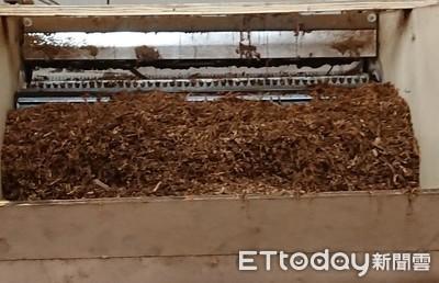 破史上最大私菸工廠 可做成78萬包香菸