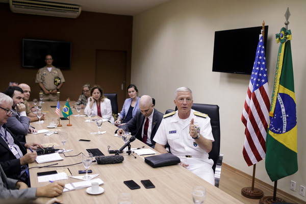 美軍巴西外海軍演 嗆聲委內瑞拉:準備執行任務