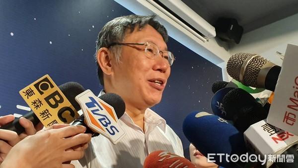 王世堅欲選立委遭打槍 柯文哲:我2020最大遺憾、全台灣失望