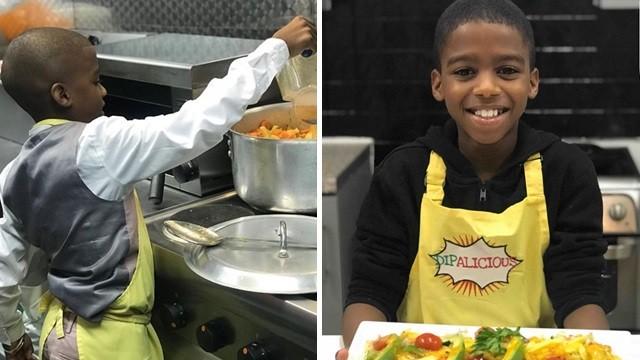 捨不得讓生病媽媽煮飯!孝順7歲童自學烹飪,四年後當上餐廳主廚
