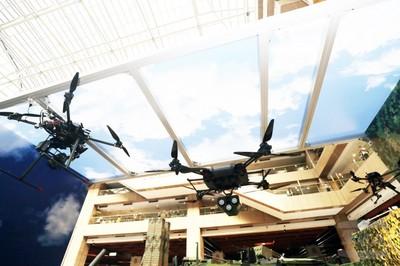 軍備局自主開發三型無人機