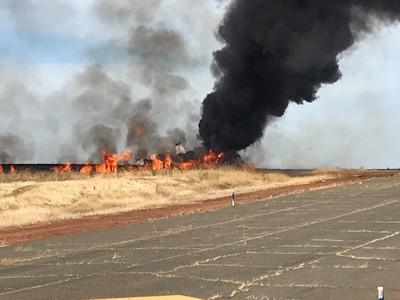 噴射機失控爆炸 10乘客死裡逃生