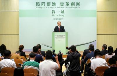 賀一誠獲94%委員提名為唯一特首候選人