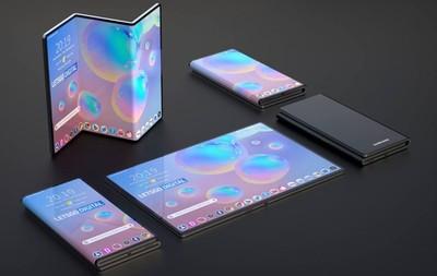 三星折疊手機專利曝光 多種折疊變化好吸睛
