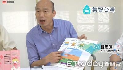 韓國瑜「:我對核四一本初衷 提5能源主張