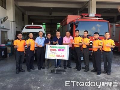 台南復興消防分隊救護員成功搶救老翁生命