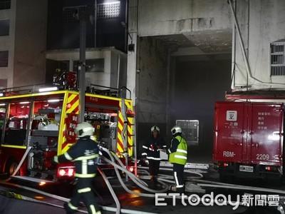 即/北投「一之鄉」工廠深夜火警 消防到場