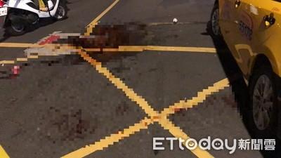 醋意男持刀砍人 計程車濺血3人傷