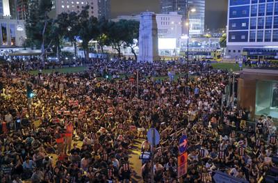 港10所大學學生會宣布:9/2起罷課2周