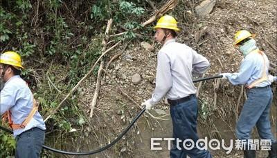 米塔來襲全台傳災情 台電:超過3200戶停電搶修中