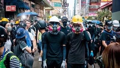 台北防毒面罩 如何進香港抗爭前線?