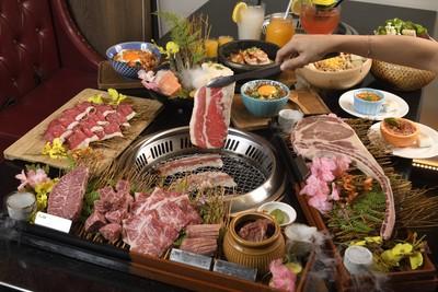 櫻花底下吃燒肉!台北「哞哞屋」人氣爆棚 juicy美牛獲「美旗林」認證