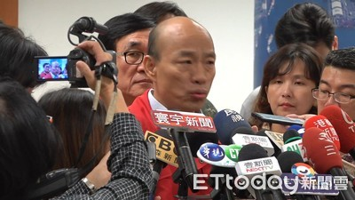 韓國瑜這次為颱風「不跑選舉」 蘇貞昌:首長堅守崗位都給予鼓勵