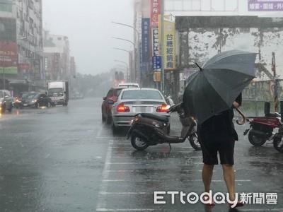白鹿釀大風大雨 板橋國中體育館玻璃破2面