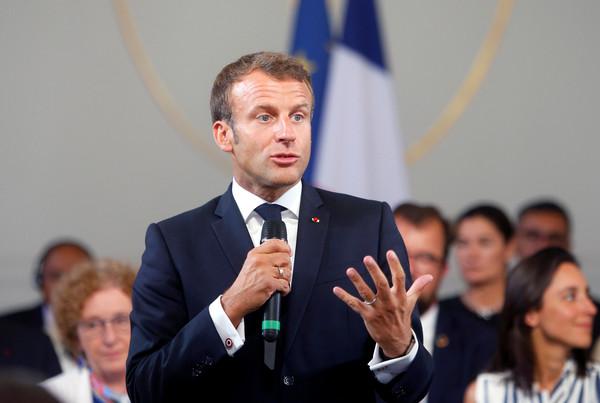 ▲▼法國總統馬克宏(Emmanuel Macron)。(圖/路透)