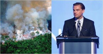 李奧納多救亞馬遜 巴西總統嗆他縱火
