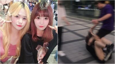 18歲女遊客被扯髮猛揍! 首爾反日歐巴狂言「賤種來一個打一個」