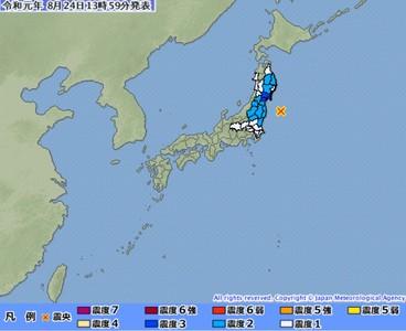 福島規模5.5強震 深度僅8公里
