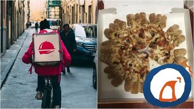 打開外送披薩盒「怒缺黃金一角!」 店家堅稱切8塊...惹網友論戰