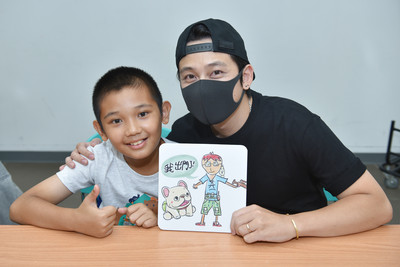 LINE熱門貼圖創作者專訪/一神攜手兒福孩童創作「法鬥皮古」超人