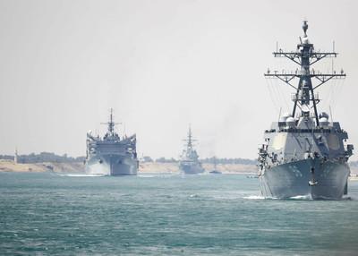 美國東協9月首度聯合海上軍演