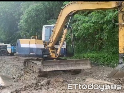 六十石山路阻斷 搶工修復暫勿上山