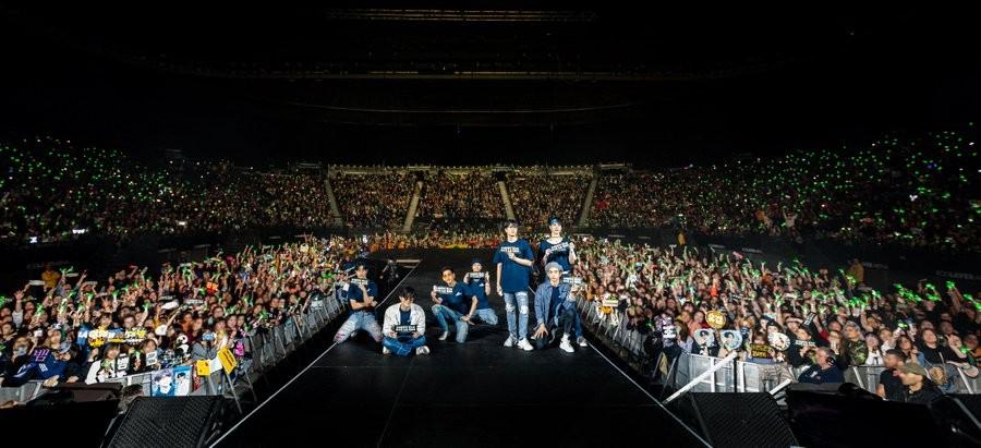 ▲GOT7於25日到墨爾本開演唱會。(圖/翻攝自GOT7推特)