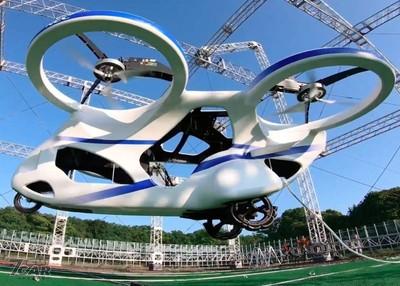 「飛行汽車」日本試飛成功