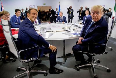 馬克宏:川普和伊朗總統幾周內會談