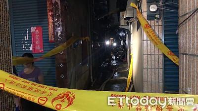 快訊/前鎮平房火警 1男陳屍屋內