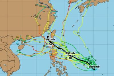 12號颱風「楊柳」可能生成!周四起變天