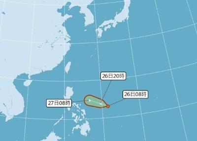 菲東熱帶低壓生成了!最快明變颱風楊柳