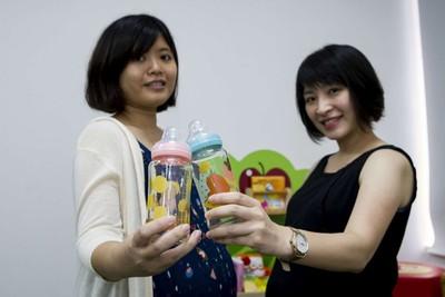 竹市奶瓶禮盒組 奪德國紅點設計獎